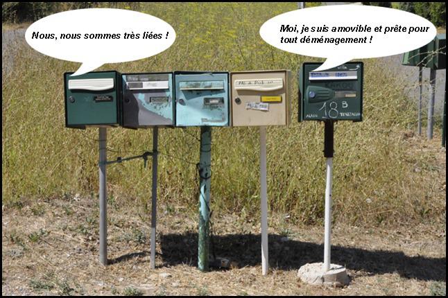 Quand les boîtes aux lettreschangent