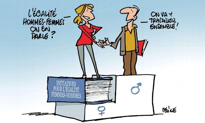 Quand le Président du Conseil Syndical est une femme!