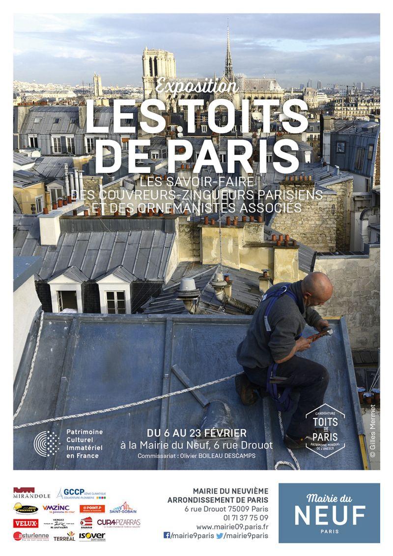 Proposition de sortie : exposition les toits deParis