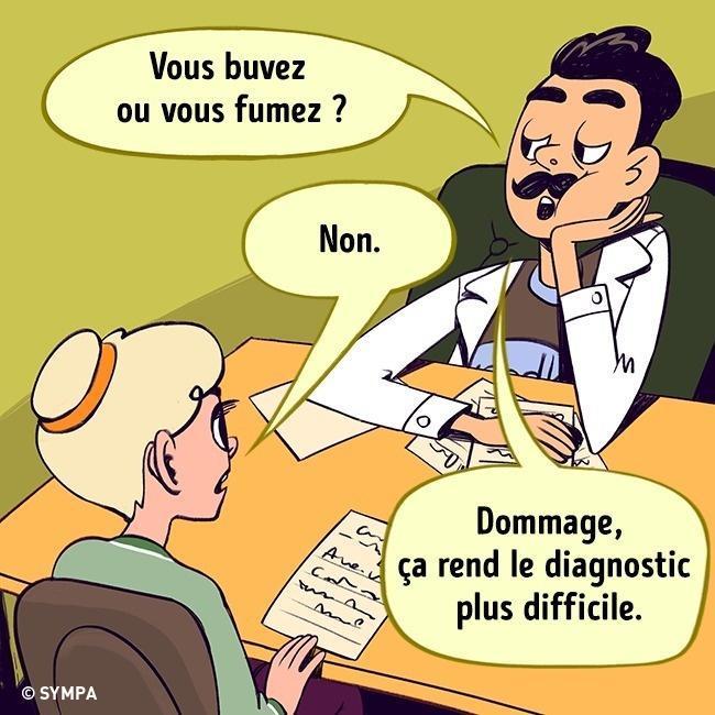 Quand le copropriétaire est médecin!